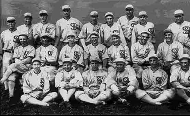 an analysis of the 1919 world series scandal involving eight players