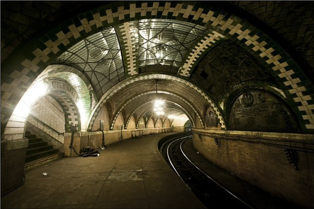 There S An Abandoned But Beautiful New York Subway System