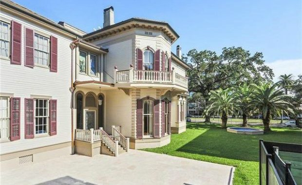 New Orleans mansion
