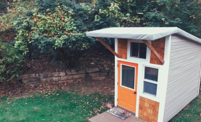 tiny house Luke Thill