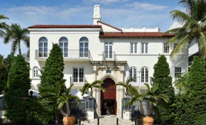 Gianni Versace's famed mansion