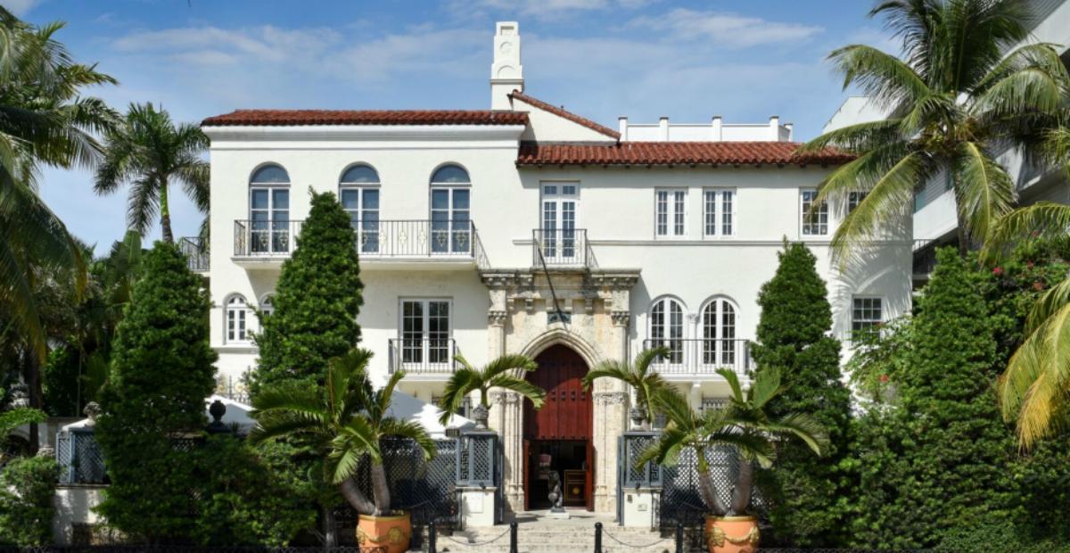 Gianni Versace's famed mansion