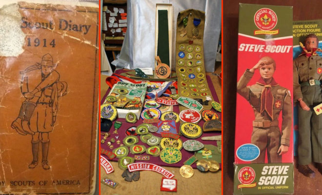 Boy Scout collectibles