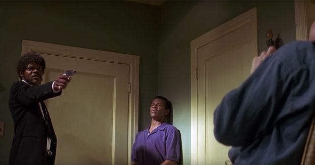 Pulp Fiction behind scenes