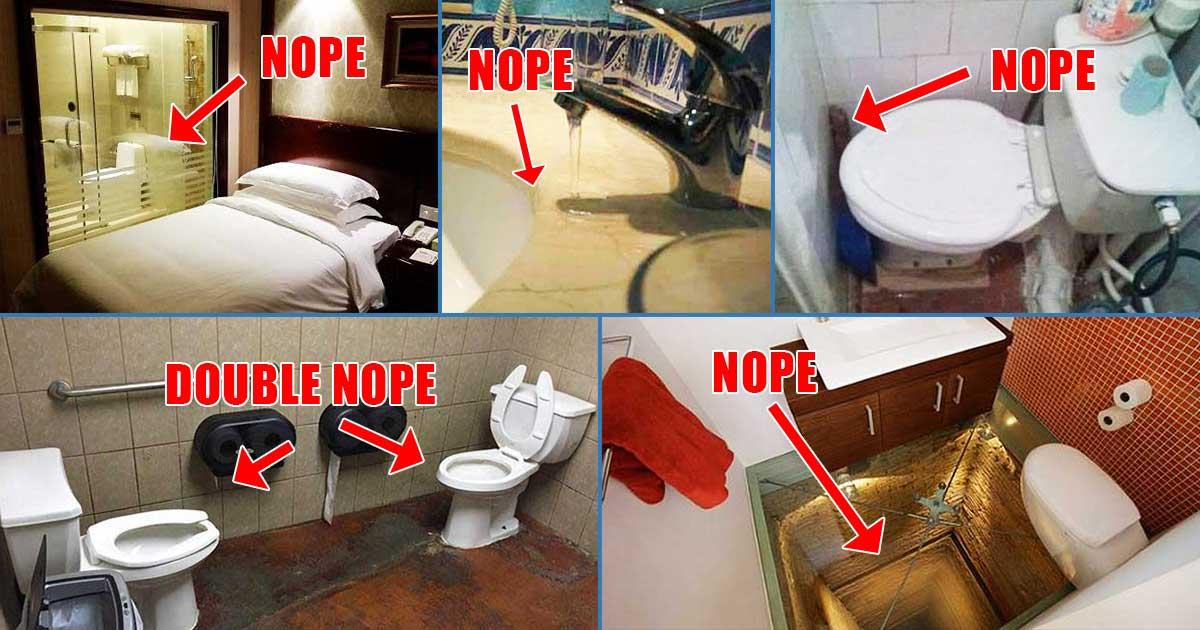 bathroom renovation fails