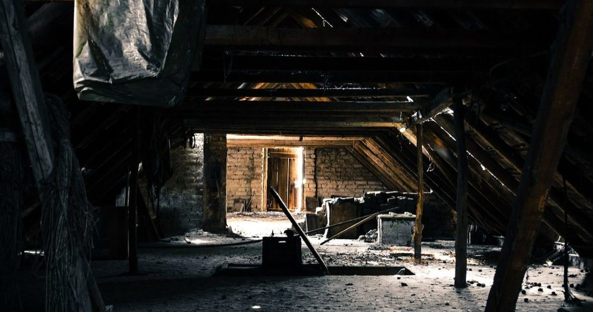 strangest things found in attics